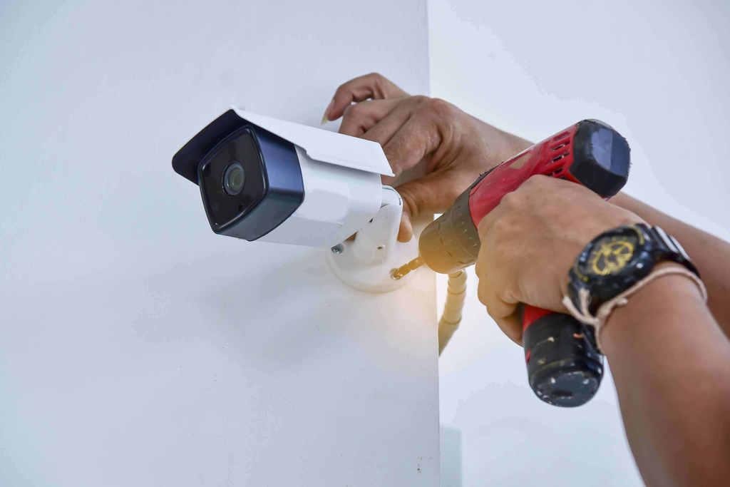 התקנת מצלמות אבטחה